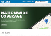 New modern look for Hub Le Bas website